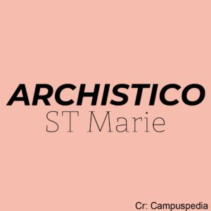 archistico - st marie