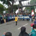 5000 mahasiswa kembali demo tolak omnibus law