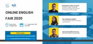 Campuspedia Online English Fair 2020
