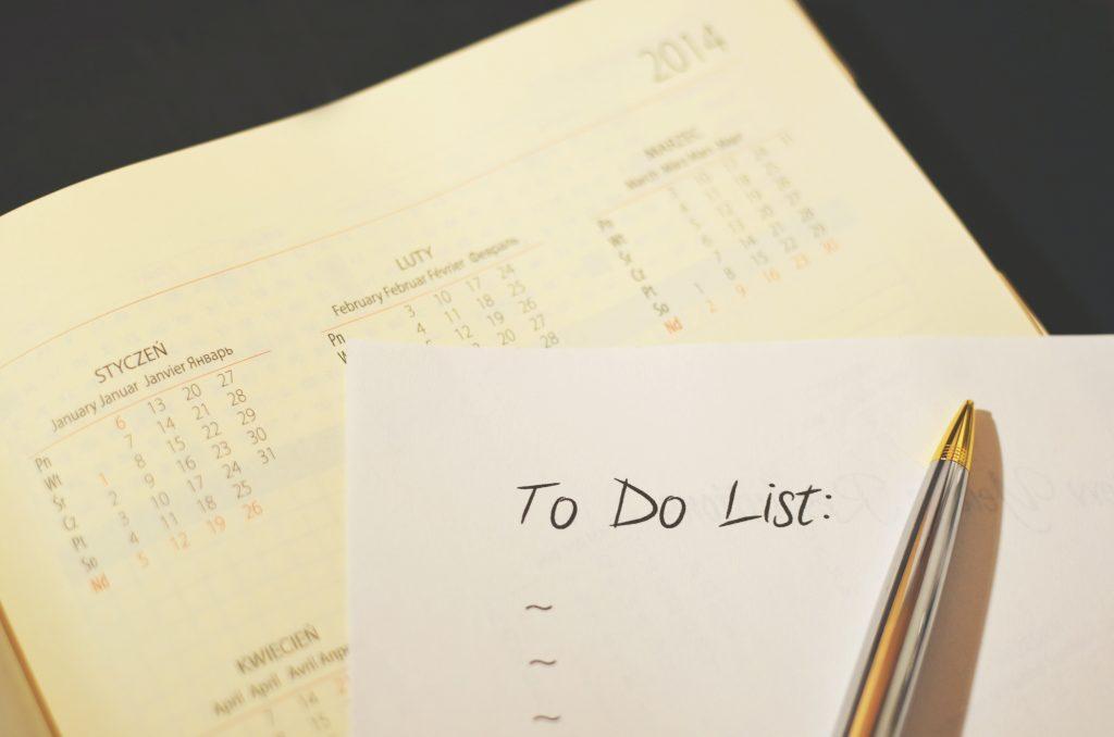 merencanakan kegiatan, rencana harian